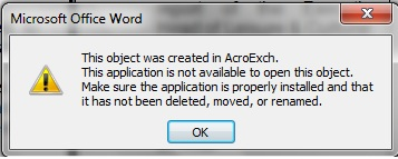 acroexch word 2007